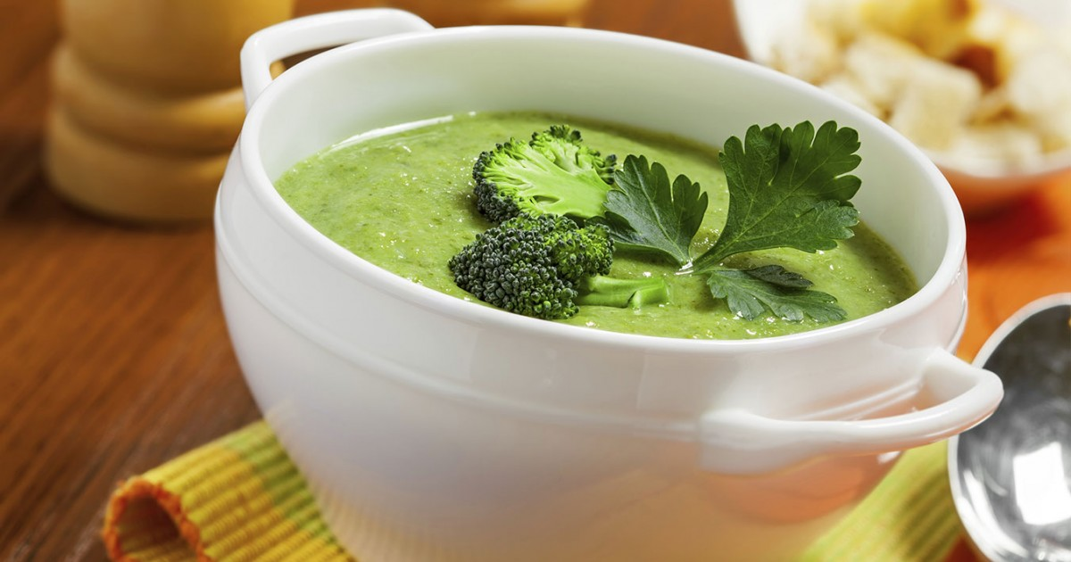 Cream of Broccoli Soup - ChooseVeg.com