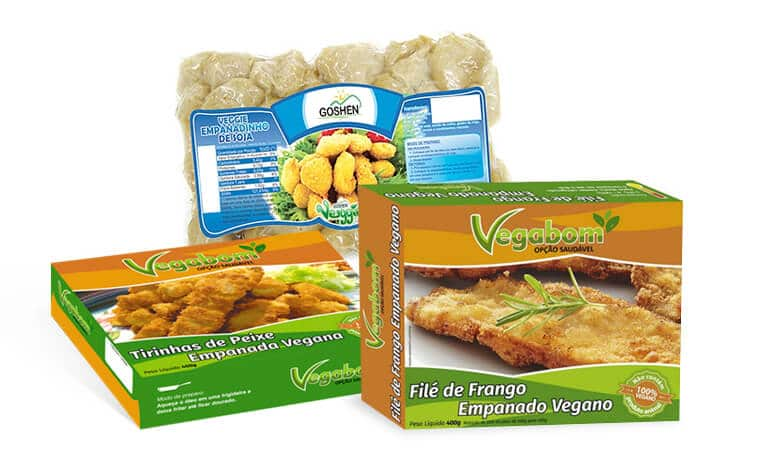 ''Frango e peixe'' veganos