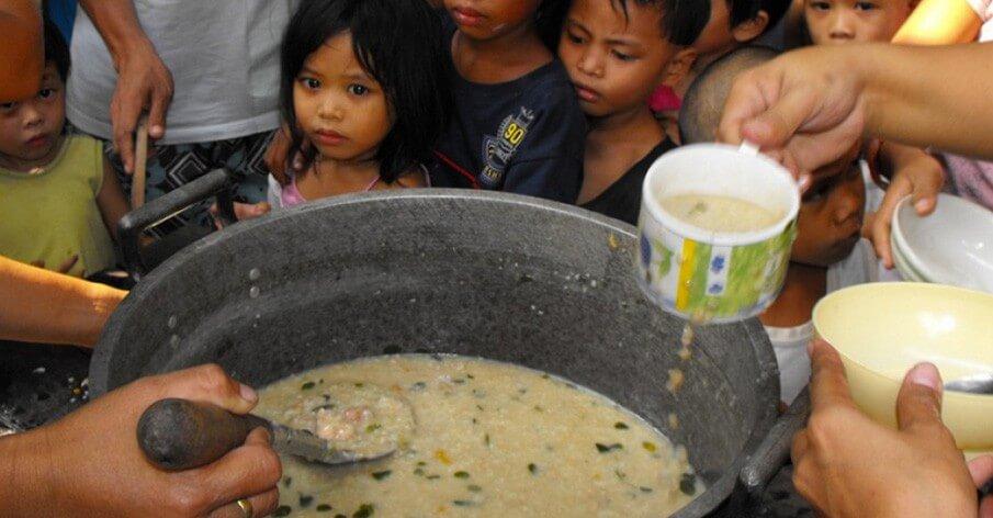A fome mundial pode acabar. Se você quiser.