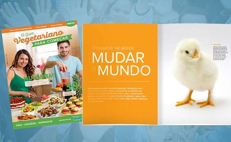 Guia Vegetariano da Mercy For Animals ultrapassa marca de 500 mil downloads