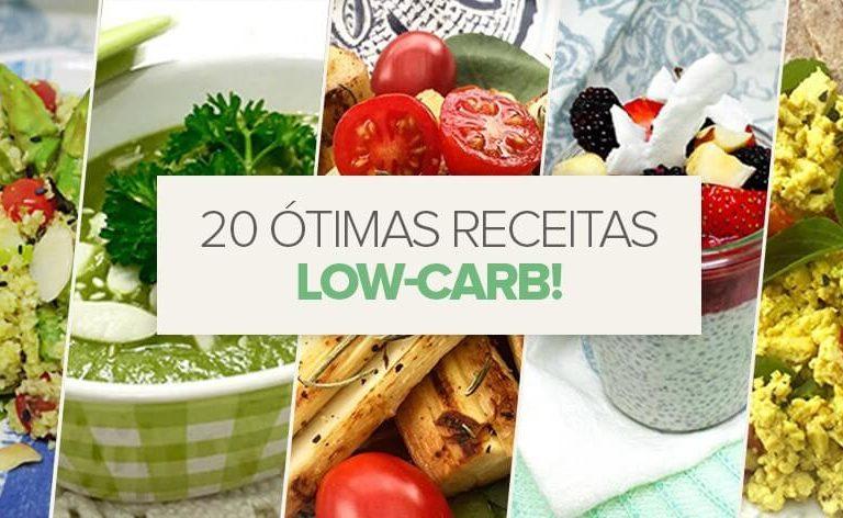 20 receitas veganas low-carb deliciosas